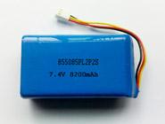 聚合物电池组7.4V-8200